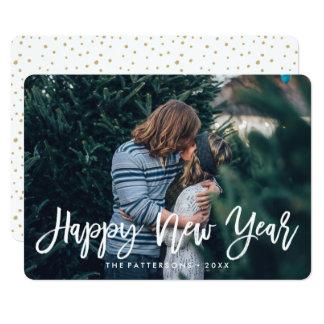 Happy New Year Overlay   Holiday Photo Card