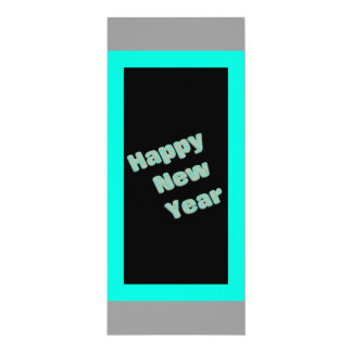 Happy New Year Party 10 Cm X 24 Cm Invitation Card