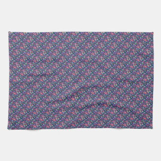 Happy New Year Party Glitter Stars Towels