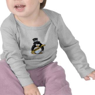 Happy New Year Penguin T-shirts