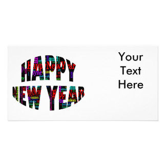 Happy New Year! Personalised Photo Card