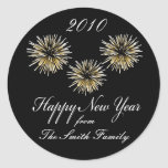 Happy New Year - Personalised Sticker Labels