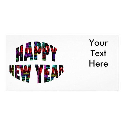 Happy New Year! Custom Photo Card