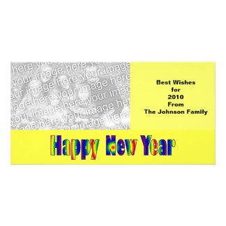 Happy New year Photo Card Template