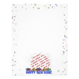 Happy New Year Photo Frame 21.5 Cm X 28 Cm Flyer
