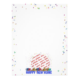 Happy New Year Photo Frame Flyers