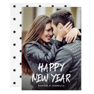 Happy New Year Photo Holiday Card