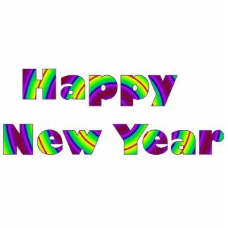 Happy New Year Photo Sculpture Decoration