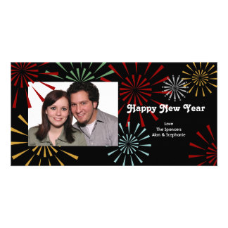 Happy New Year Photocards Personalised Photo Card