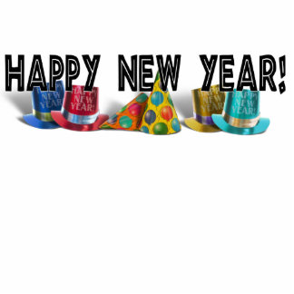 HAPPY NEW YEAR! ACRYLIC CUT OUTS