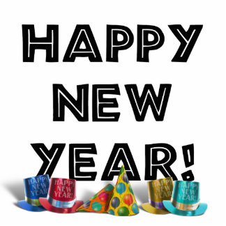 HAPPY NEW YEAR! CUT OUTS