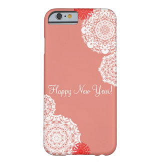 Happy New Year! (pink) Barely There iPhone 6 Case