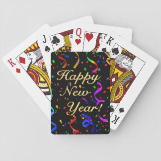 """Happy New Year!"" Poker Deck"