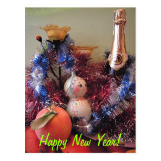 Happy New Year Post Cards