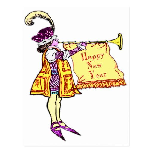 Happy New Year Post Card