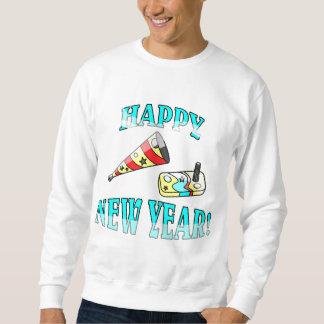 Happy New Year Pull Over Sweatshirt