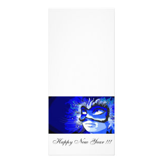 Happy New Year Rack Card Design