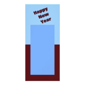 Happy New Year Custom Rack Card