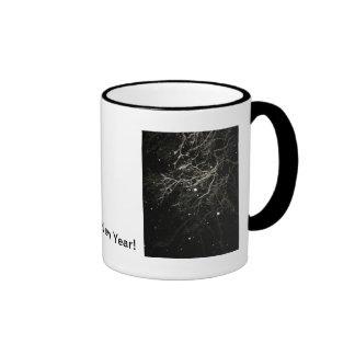 Happy New Year Ringer Mug