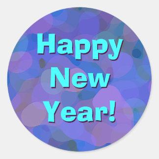Happy New Year! Round Sticker