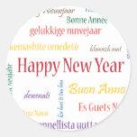 ** Happy New Year ** Round Sticker