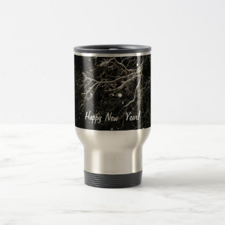 Happy New Year Stainless Steel Travel Mug