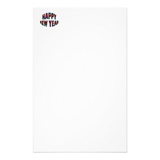 Happy New Year! Stationery