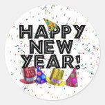 HAPPY NEW YEAR! STICKER