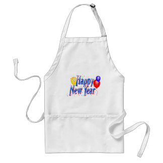 Happy New Year T-Shirts New Year's Apron