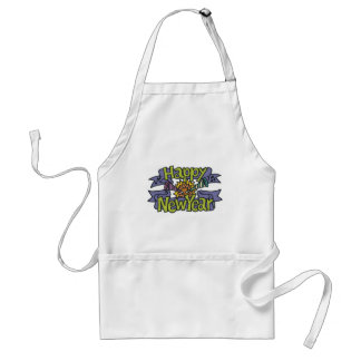 Happy New Year T-Shirts New Year's Aprons