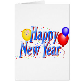 Happy New Year T-Shirts New Year's Cards