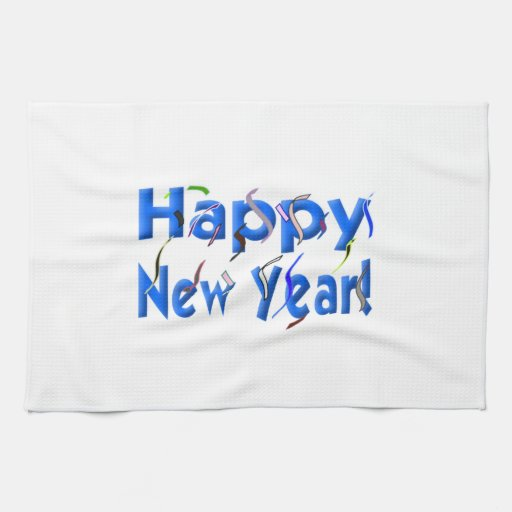 Happy New Year Towels