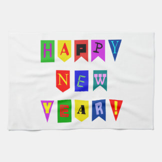 Happy New Year Hand Towels