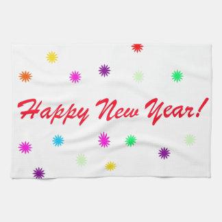 Happy New Year Tea Towel