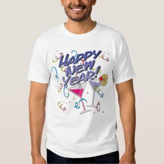 Happy New Year Tee Shirts