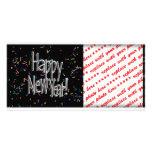 HAPPY NEW YEAR! Text Image Custom Photo Card
