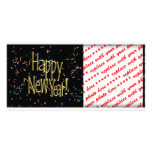 HAPPY NEW YEAR! Text Image Personalized Photo Card