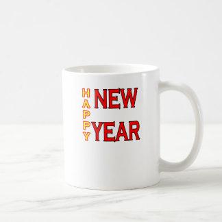 Happy New Year The MUSEUM Basic White Mug