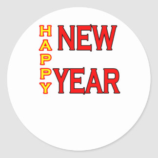 Happy New Year The MUSEUM Sticker