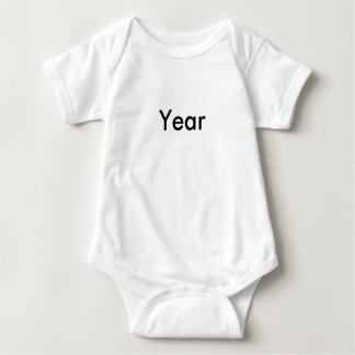 Happy 'New' Year Triplet Baby 1 of 3 set Baby Bodysuit