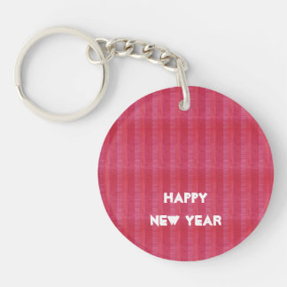 HAPPY NEW YEAR Unique color pattern gifts Key Ring