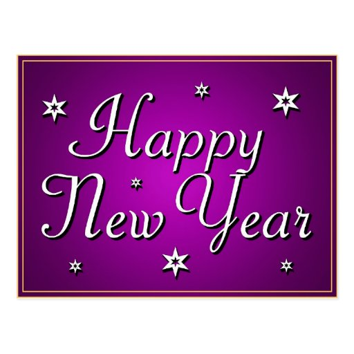 HAPPY NEW YEAR! v.3 ~ Postcard