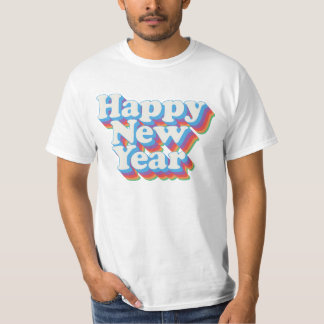 Happy New Year Vintage T-Shirt