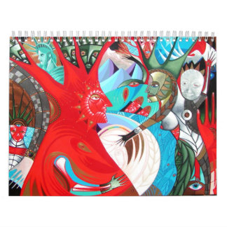 happy new year wall calendars