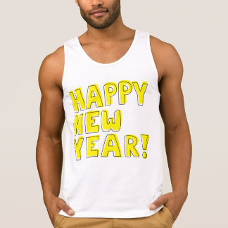 Happy New Year! wishes tank top t-shirt
