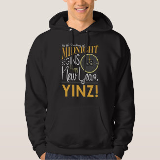 Happy New Year Yinz Men's Hoodie