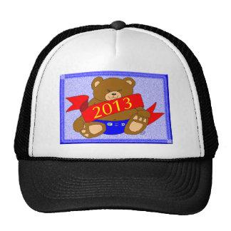 Happy New Year's Bear - 2013 Trucker Hat