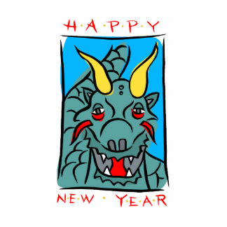 Happy New Years Dragon Photo Sculptures