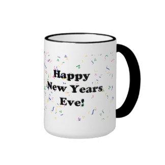 Happy New Year's Eve Ringer Mug