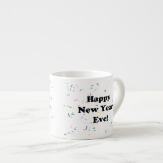 Happy New Year's Eve Espresso Mugs